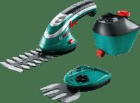 Ножницы для кустов и травы аккумуляторные Bosch ISIO 3 с распылительной насадкой