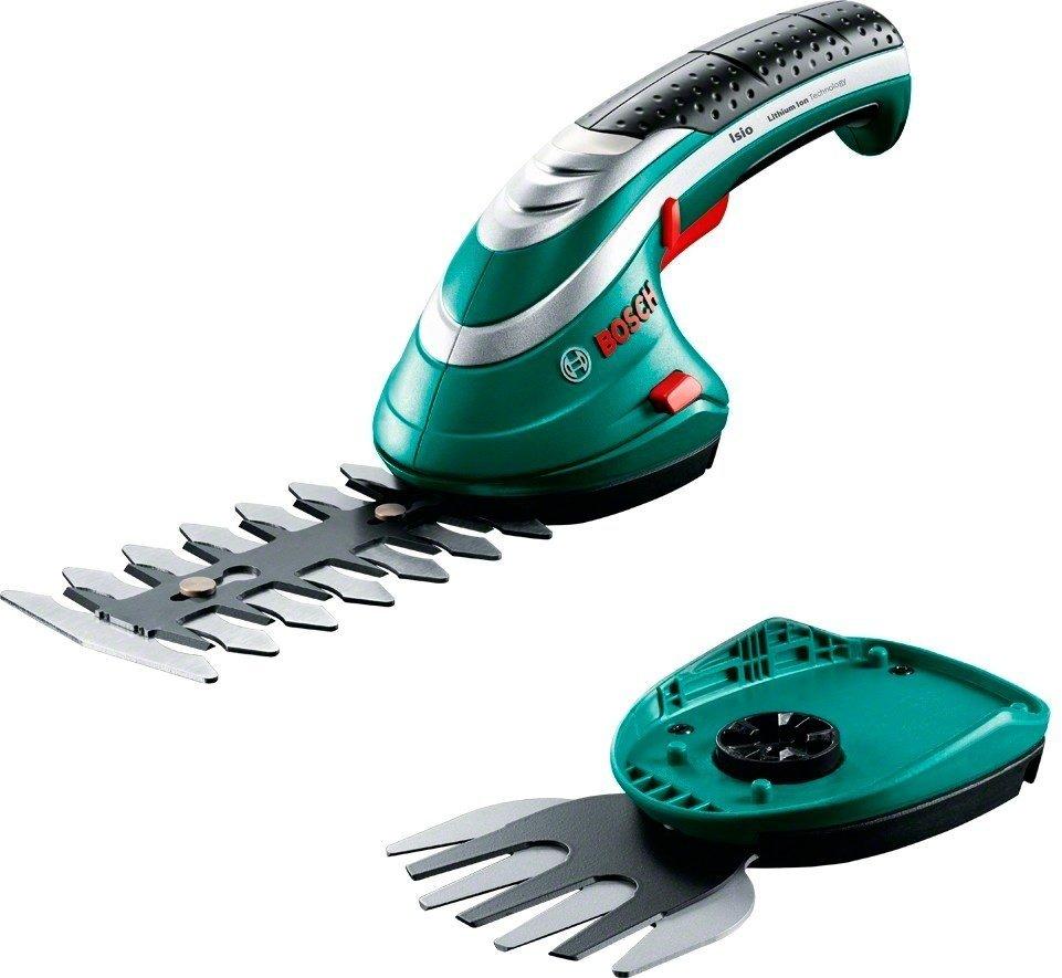 Ножницы для кустов и травы аккумуляторные Bosch ISIO 3 фото