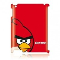 Чехол GEAR4 для планшета iPad New GEAR4 Angry Birds Red