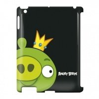 Чехол GEAR4 для планшета iPad New GEAR4 Angry Birds Green