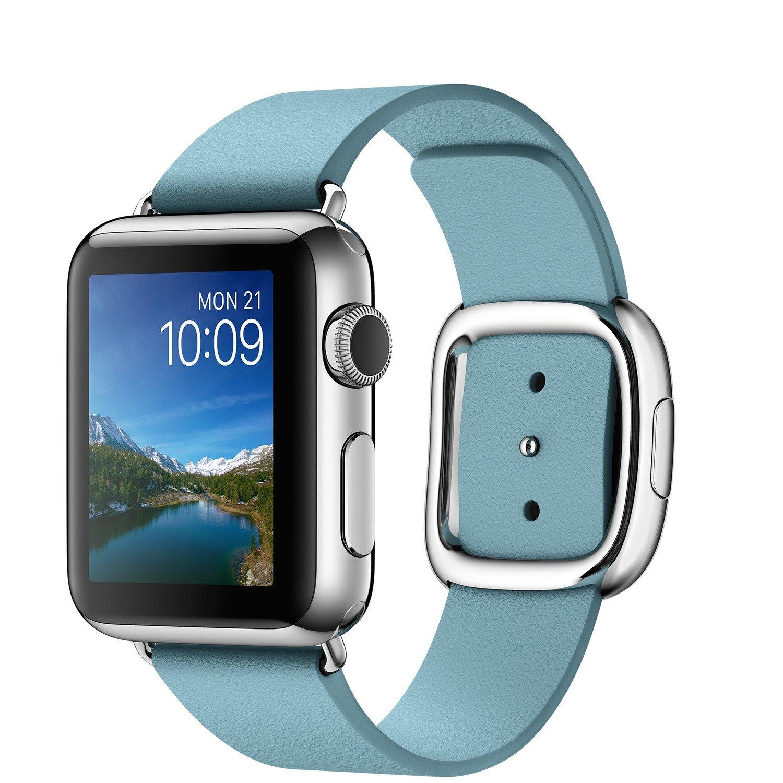 Смарт-годинник Apple Watch Series 1 38 MMFA2 St Steel Case with Blue Jay  Modern 2846e21362fff