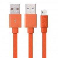 Кабель microUSB JUST Freedom 1.2M Orange