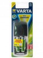 Зарядний пристрій VARTA Mini Charger + 2AA 2100 mAh