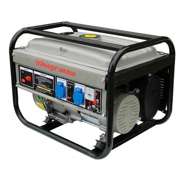 Генератор бензиновый энергомаш цена стабилизатором напряжения d1 142 ен5б