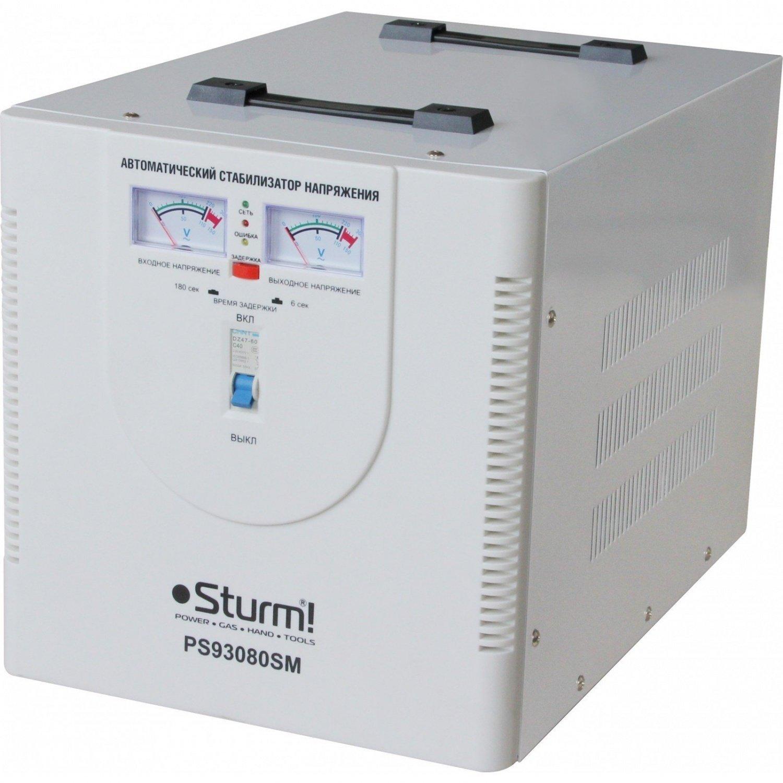 Стабілізатор напруги Sturm PS93080SMфото