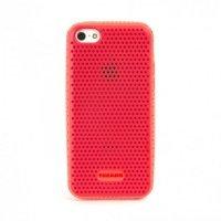 Чехол Tucano для iPhone 5С Trama Red