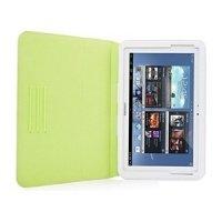 Чехол к планшету CAPDASE Protective Case Folio Dot White/Green for Samsung Galaxy Note 10.1 GT-N8000