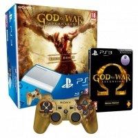 Игровая приставка SONY PlayStation 3 500Gb Super Slim + God of War: Вознесение