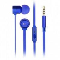 Навушники KitSound Hive In-Ear Headphones (Blue)