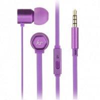 Навушники KitSound Hive In-Ear Headphones (Purple)