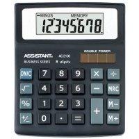 Калькулятор Assistant AC-2100 BK 8-разрядный (AC-2100)