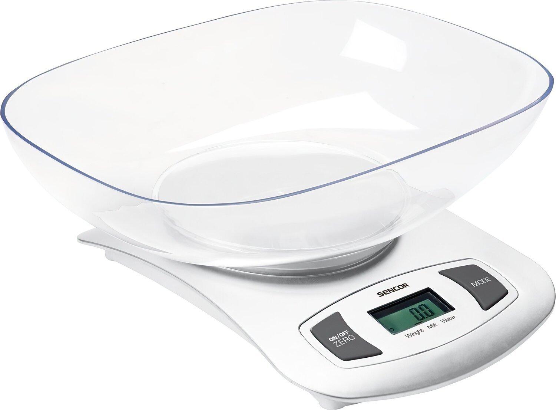 Весы кухонные Sencor SKS4001WH фото 1