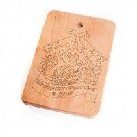 Дошка дерев'яна ART Kitchen 20х30 см (20300106)