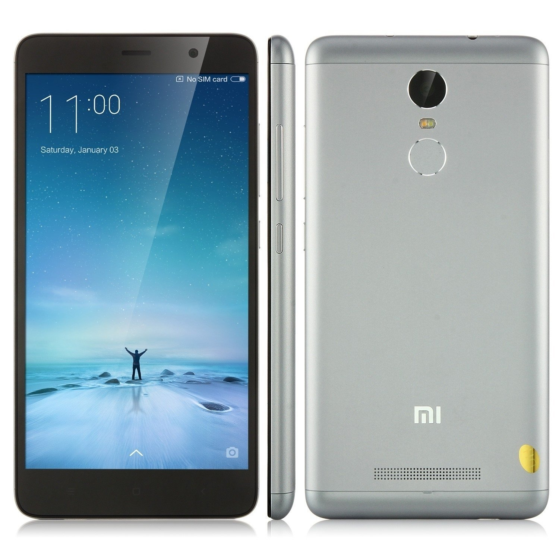 Смартфон Xiaomi Redmi Note 3 Pro Gray