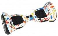 Гироборд ProLogix ProfiBoard 10 дюймов с подсветкой и колонкой + пульт и сумка, Scrawl