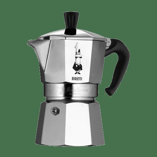 ≡ <b>Гейзерная кофеварка Bialetti Moka</b> Express 120 мл (0001168 ...