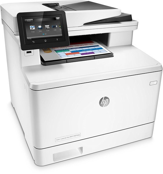 Купить МФУ лазерное HP Color LJ M377dw с Wi-Fi