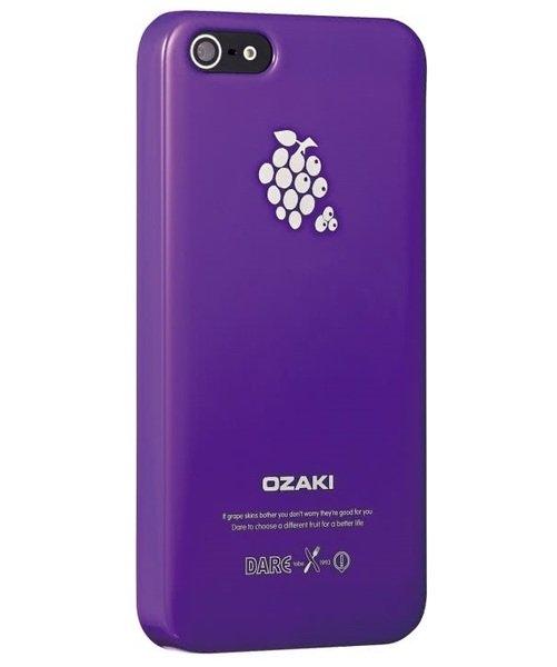 Купить Чехлы для телефонов (смартфонов), Чехол Ozaki для iPhone 5/5S/SE O!Coat Fruit GRAPE