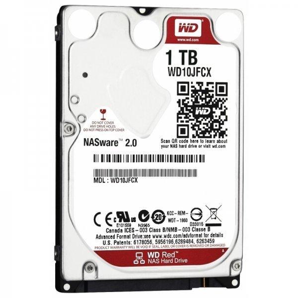 Купить Жесткий диск внутренний WD 2.5 SATA 3.0 6GB/S 16MB 1TB Red (WD10JFCX)
