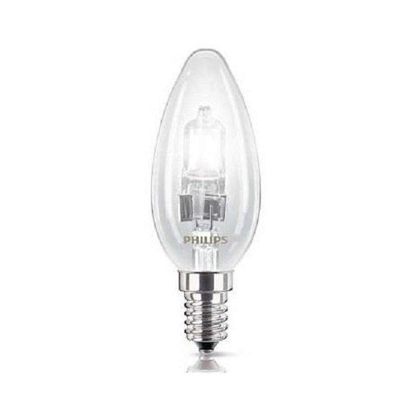 Лампа галогенная Philips E14 18W 230V B35 CL Eco Classic фото 1