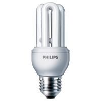 Лампа энергосберегающая Philips E27 11W 220-240V 6500K Genie