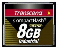 Карта памяти TRANSCEND CF 8GB Industrial 100X (TS8GCF100I)