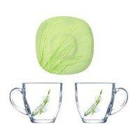 Чайный сервиз Luminarc CARINA SOFIANE GREEN 12 предметов (7939J)