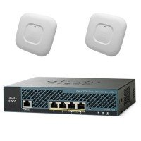 Контроллер и две точки доступа Cisco Mobility Express Bundle AP2700i and WLC2504 with 25 lic