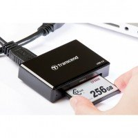 Кардридер Transcend USB 3.0 CFast Black (TS-RDF2)