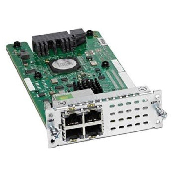 Модуль Cisco 4-port Layer 2 GE Switch Network Interface Module (NIM-ES2-4=) фото 1