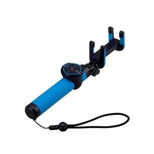 Монопод для смартфона MOMAX Hero Bluetooth Selfie Pod 100cm Blue / Black (KMS7D)фото1
