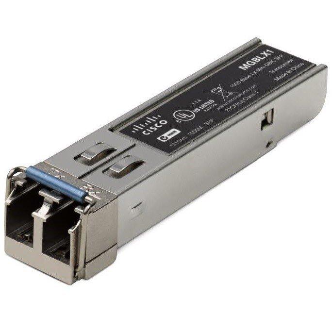 Модуль Cisco SB MGBLX1-RF Gigabit Ethernet LX Mini-GBIC SFP Transceiver REMANUFACTURED (MGBLX1-RF) фото 1