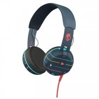Наушники Skullcandy Grind Stripes/Navy/Blue TTech