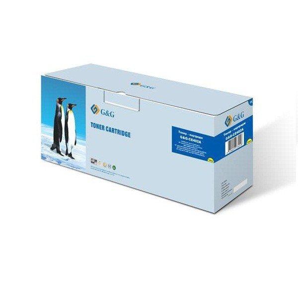 Купить Картриджи к лазерной технике, Картридж лазерный G&G для HP CLJ M551/M570/M575 Yellow, 6000 стр (G&G-CE402A)