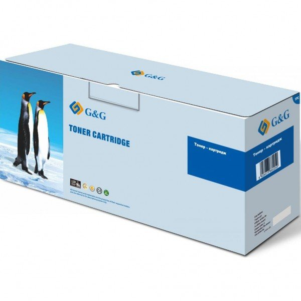Купить Картридж лазерный G&G для HP CLJ M552dn/M553dn/n/x Cyan, 9500 стр (G&G-CF361X)