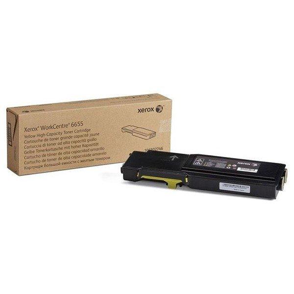 Картриджи к лазерной технике, Тонер-картриджлазерныйXeroxWC6655Yellow, 7500стр(106R02754)  - купить со скидкой