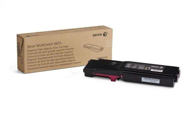 Купить Картриджи к лазерной технике, Тонер-картридж лазерный Xerox WC6655 Magenta, 7500 стр (106R02753)