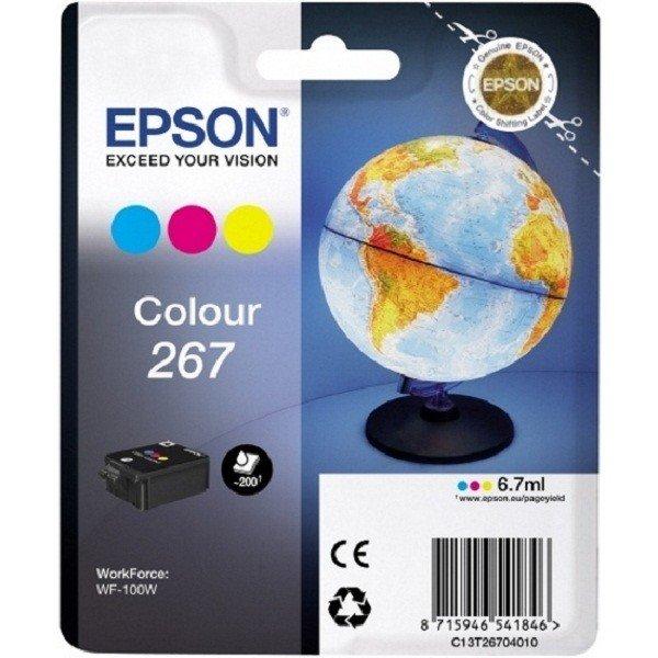 Купить Картридж струйный EPSON WorkForce WF-100W color (C13T26704010)