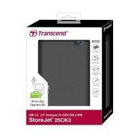 """Корпус для 2.5"""" HDD/SSD TRANSCEND USB 3.0 Rubber"""