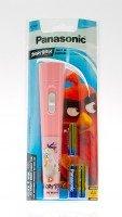 Фонарь Panasonic Angry Birds, розовый