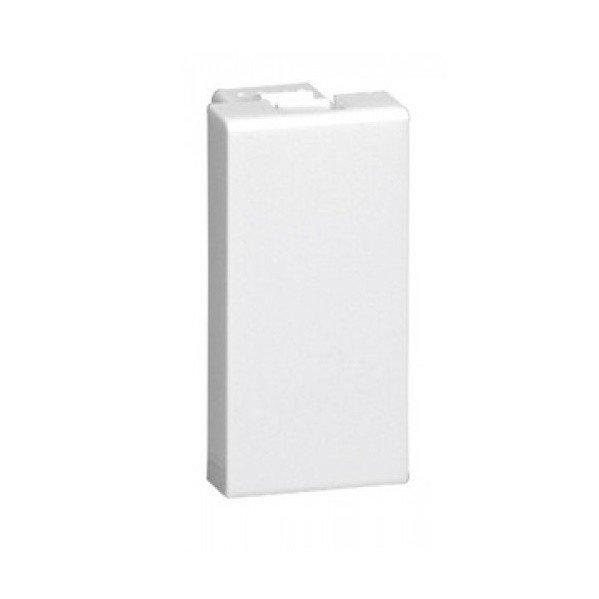 Купить Опции к пассивному сетевому оборудованию, Заглушка Legrand Mosaic (1 модуль), white