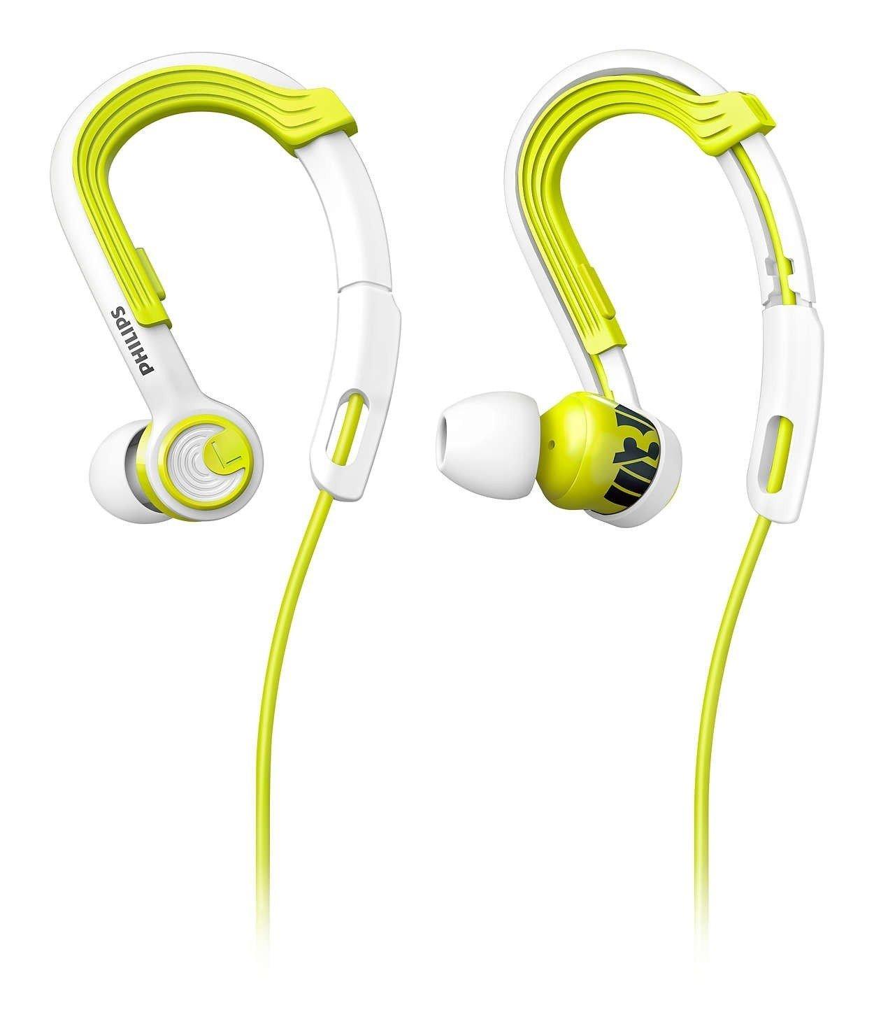 ≡ Навушники Philips ActionFit SHQ3400LF   00 Carbon Lime – купити в ... 0e40d7ea67b93