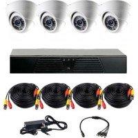 Комплект видеонаблюдения CoVi Security AHD-4D KIT
