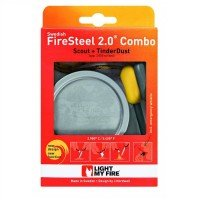 Набор для розжига Light My Fire Scout Yellow 2.0+TinderDust Combo Yellow (LMF 50593210)