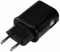 Сетевое зарядное устройство Kit EU Mains Charger 2xUSB Black