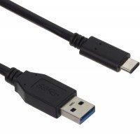 Кабель USB-C Kit USB 3.1 CM/AM GEN 2. 0.9m (black)