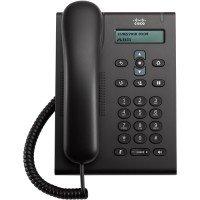 Проводной IP-телефон Cisco Unified SIP Phone 3905,Charcoal,Std Handst REFURBISHED