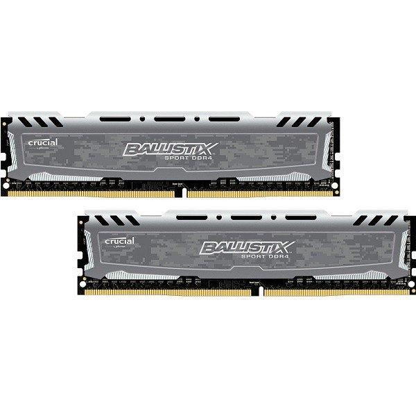 Купить Память для ПК Micron Ballistix Sport DDR4 2400 32GB (2x16) (BLS2C16G4D240FSB)
