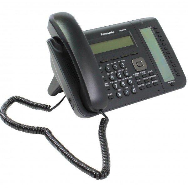Купить Системные телефоны, Проводной IP-телефон Panasonic KX-NT553RU-B Black для АТС Panasonic KX-TDE/NCP/NS