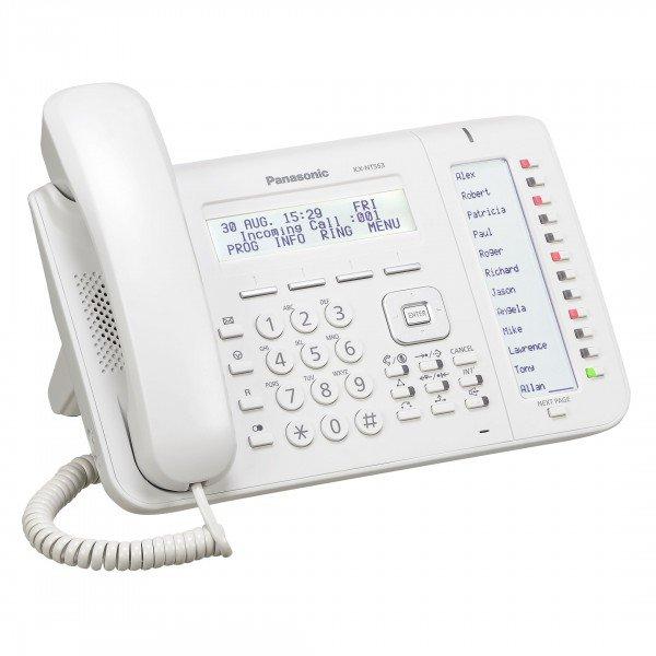 Купить Проводной IP-телефон Panasonic KX-NT553RU White для АТС Panasonic KX-TDE/NCP/NS